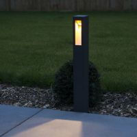 KSR Lighting KSR1904 Viella 8.5w 3000K LED 650mm Bollard Anthracite
